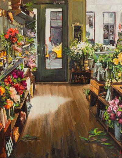 Le marchand de fleurs