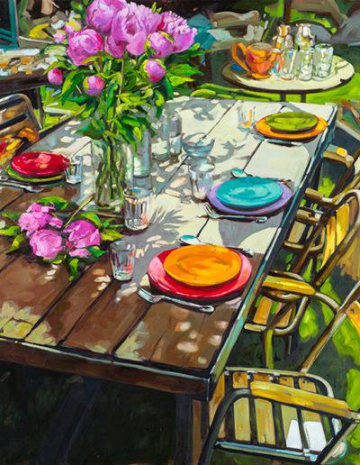 La table au bouquet