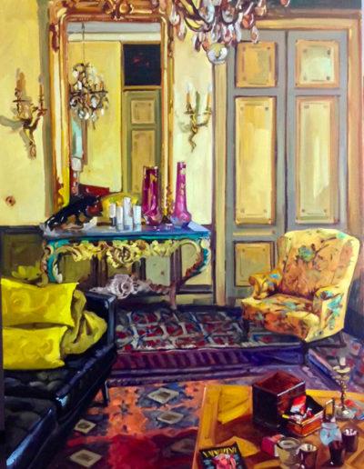 Le salon jaune