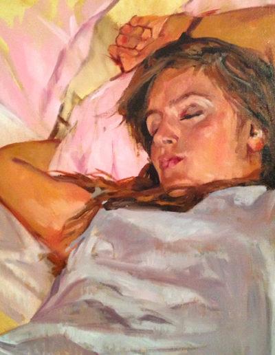 Lea endormie