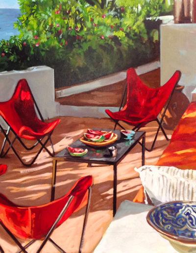 Terrasse à Nice