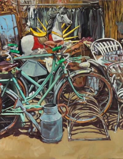 Les vieux vélos