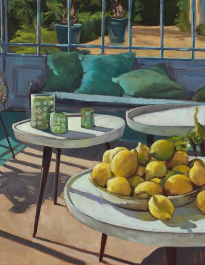 Véranda aux citrons