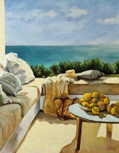 La terrasse aux citrons