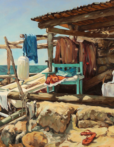 La cabanne du pêcheur