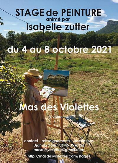 Nouveau stage de peinture : octobre 2021