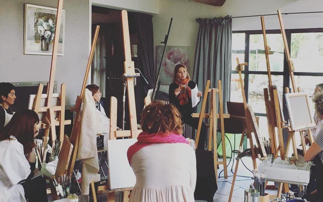 Stage de peinture du 1er au 5 octobre 2018