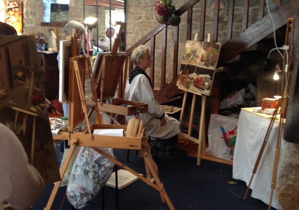 Stage de peinture en Bretagne